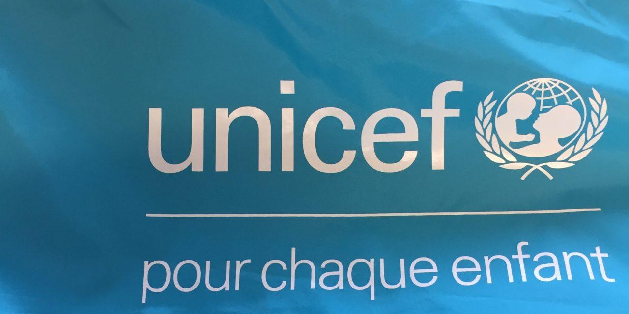 Coupe Vent (Kway) Personnalisé pour l'UNICEF