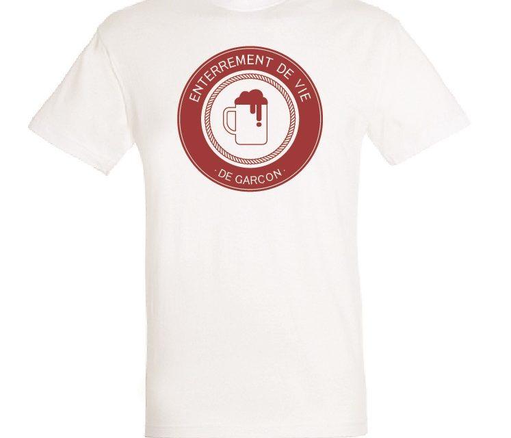 marque populaire pourtant pas vulgaire moins cher Tee shirt Personnalisé pour EVG ou EVJF - Standard ...