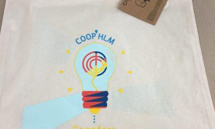 Tote Bag Personnalisé pour la Convention des Coop HLM