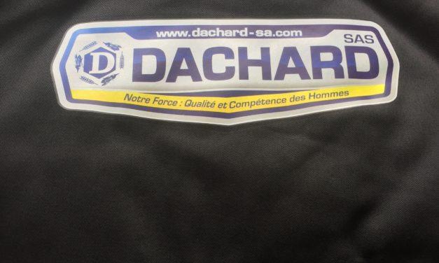 Flocage sur Bodywarmer pour l'Entreprise Dachard