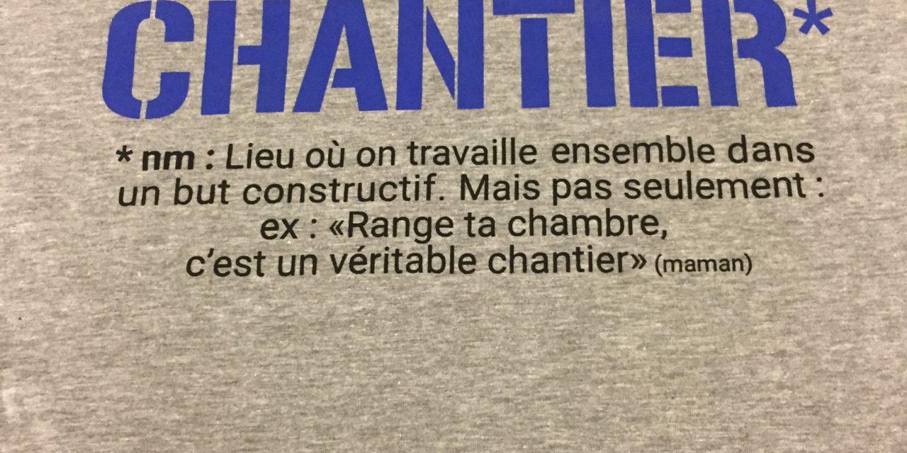 Record de Tee shirt Imprimé en Sérigraphie