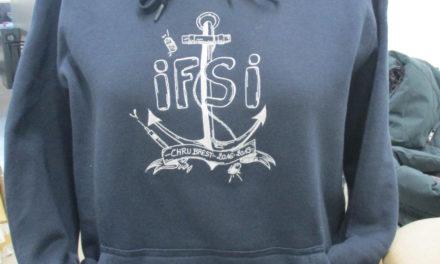 Sweat Personnalisé Brodé pour IFSI Brest