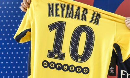 Record des Ventes pour le Flocage du Maillot de Neymar !