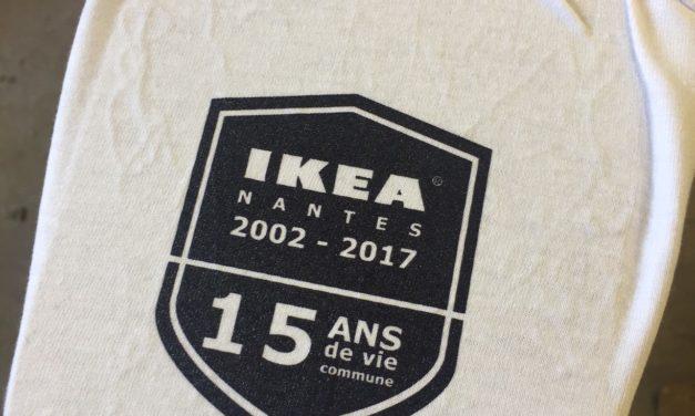 Marinière Personnalisée pour Ikea Nantes