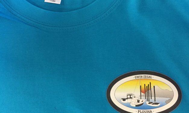 Personnalisation de Tee shirt pour l'Association Gwin Zegal de Plouha