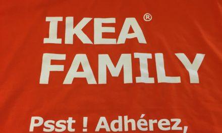Tee shirt Publicitaire Personnalisé pour Ikea