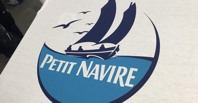 Impression de Tee shirt Publicitaire pour Petit Navire