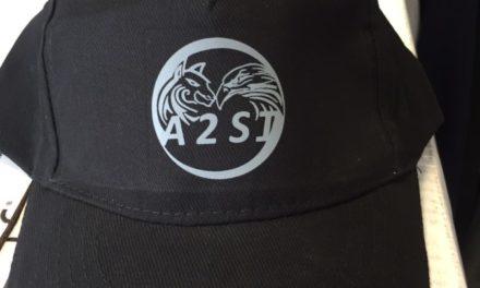 Casquette Imprimée en Sérigraphie pour l'entreprise A2SI
