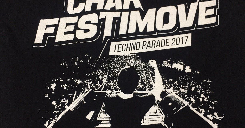 Tee Shirt Personnalisé en Sérigraphie pour la Techno Parade à Paris
