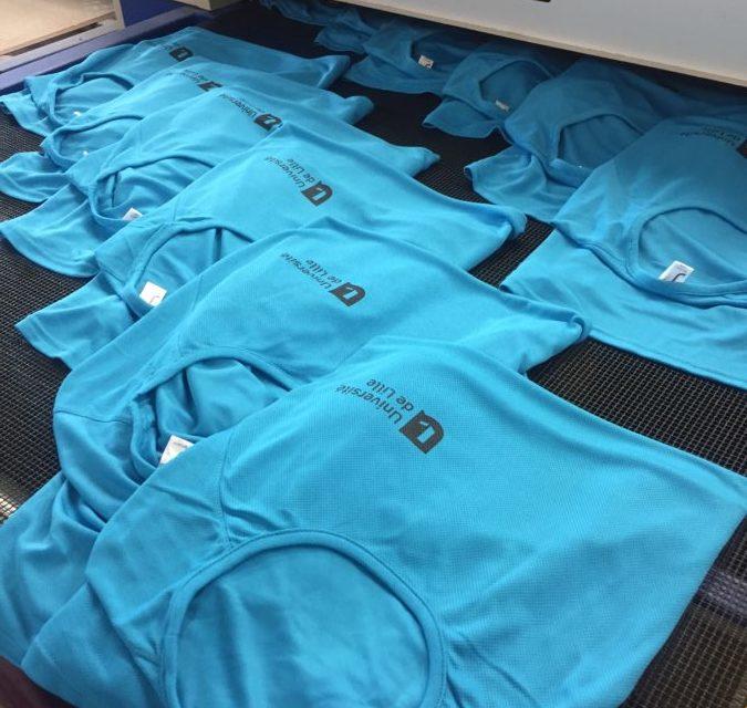 Tee shirt Sport Personnalisé pour l'Université de Lille