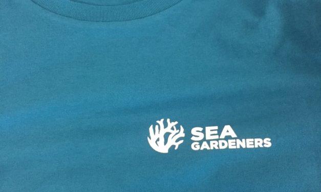 Sérigraphie sur Tee shirt pour l'Association Sea Gardeners