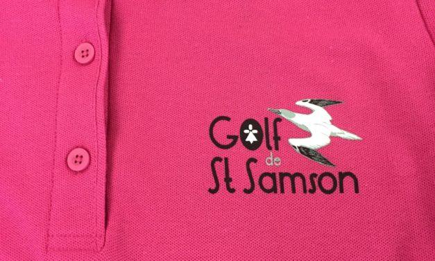 Polo Personnalisé en Sérigraphie pour un Club de Golf