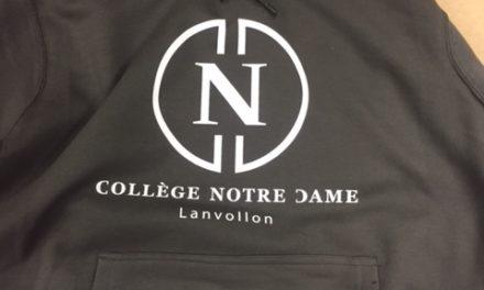 Sweat à Capuche Personnalisé pour le College de Lanvollon