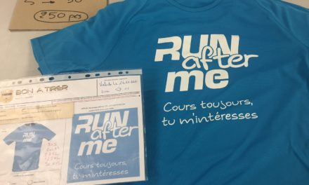 Tee shirt Running Personnalisé pour Run After Me