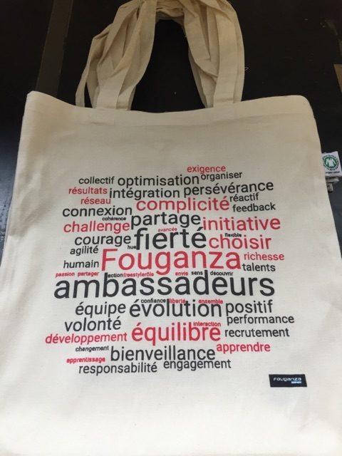 Tote Bag Publicitaire en Coton Bio pour Décathlon