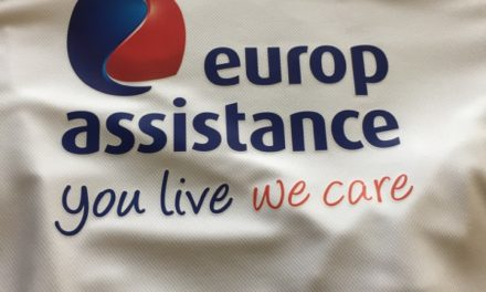 Tee Shirts de Sport Respirant Floqués pour Europ Assistance