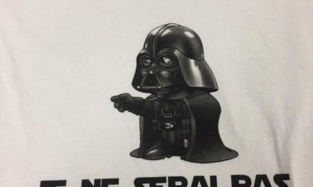 Tee Shirt «Je ne serai pas son père» pour un WEI