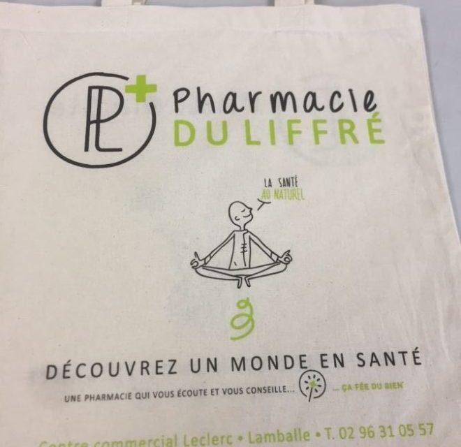 Tote Bags Personnalisés pour une Pharmacie